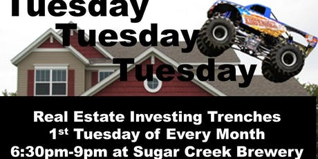 Real Estate Investing Trenches 1st Tuesday REIA Charlotte- Scott Patterson tickets