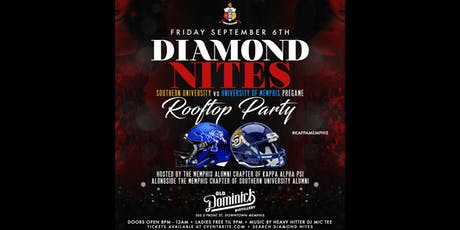 Diamond Nites : Southern University vs Memphis Pre Game Rooftop Party tickets