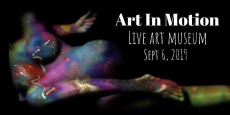 Art In Motion: Live Art Museum  tickets