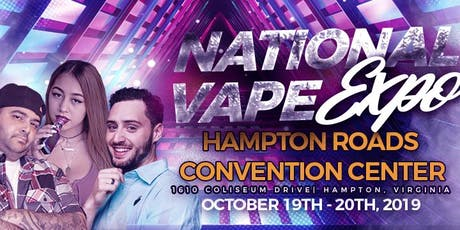 National Vape Expo Virginia tickets