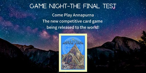 Game Night - The Final Test!