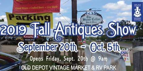 Round Top Antiques 2019 Fall Show tickets