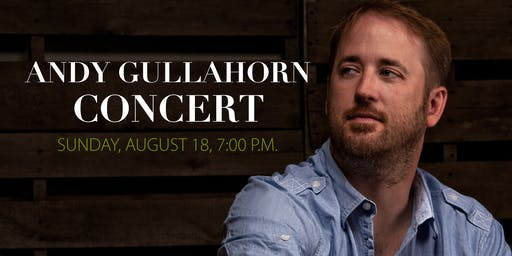 Andy Gullahorn Concert