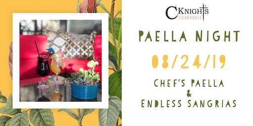 Paella Night at C. Knight's