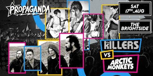 Propaganda - The Killers Vs Arctic Monkeys