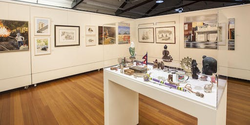 Art Bus: a guided tour of community art exhibitions in Moonee Valley