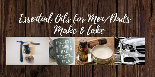 Essential Oils for Men. SpOIL your man/DAD