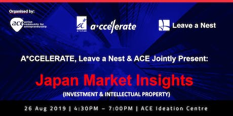 Japan Market Insights by A*CCELERATE, ACE & LVNS tickets