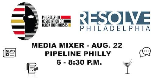 PABJ x Resolve Philadelphia Media Mixer