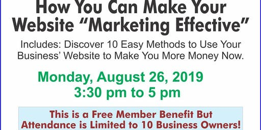 Monthly Marketing Monday: Make Your Website Marketing Effective