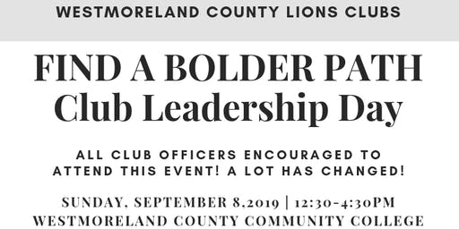 Westmoreland County Lions Clubs Leadership Day