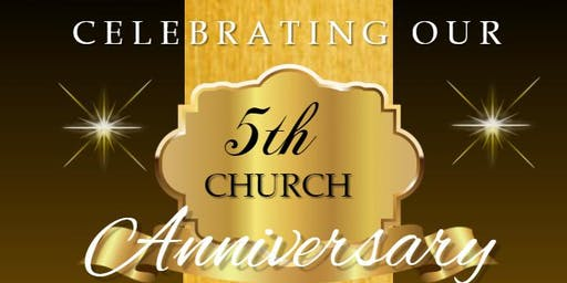 C.A.R.E. Church Inc. 5th Year Church Anniversary