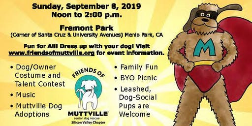 "The ""Mutt Strutt"" Comes to Menlo Park!  A Super Heroes Dog Show"