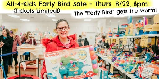 All-4-Kids, Early Bird Sale! - Fall 2019