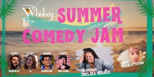 Whiskey Tip Summer Comedy Jam