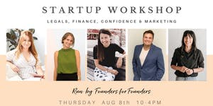 Startup workshop: Intro to starting up right, Melbourne