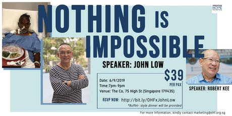 Nothing is Impossible tickets