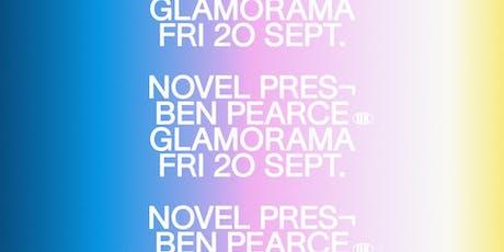 Novel presents Ben Pearce tickets