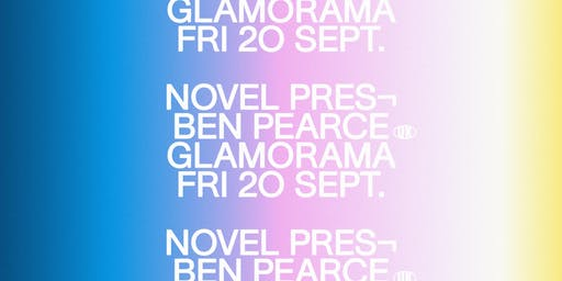 Novel presents Ben Pearce