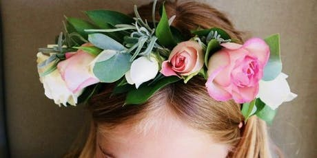Wedding Flower Crown Workshop tickets