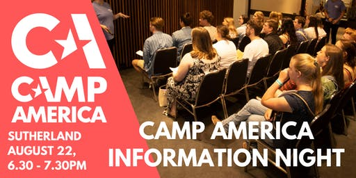 Sutherland - Camp America Info Night