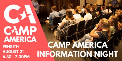 Penrith - Camp America Info Night