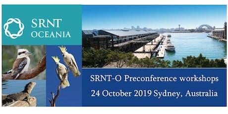 SRNT-O Preconference workshops tickets