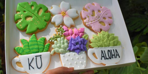 "Cookie Decorating Class - ""The Gardens"" Set"