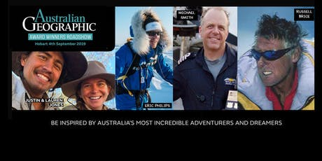 Australian Geographic Award Winner's Roadshow – Hobart 4 September 2019 tickets