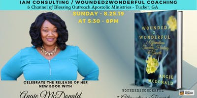 Wounded2Wonderful - Book Release & Dedication