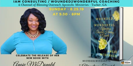 Wounded2Wonderful - Book Release & Dedication tickets