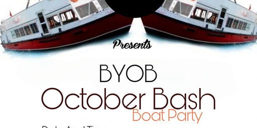 October BASH Boat Party