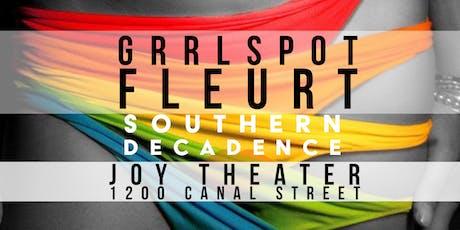 GrrlSpot |FLEURT| Southern Decadence Event For LGBT / Lesbian / Queer Women tickets
