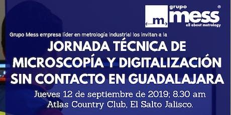 Jornada Técnica de Microscopía y Digitalización boletos