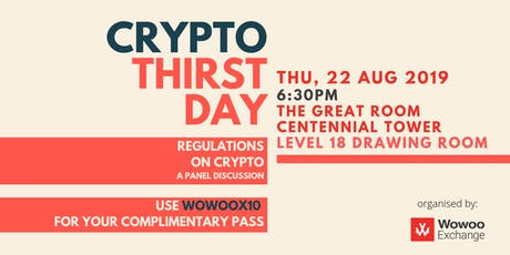 Wowoo Exchange Presents Crypto Thirstday tickets