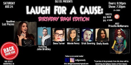 Laugh For A Cause: Birthday Bash tickets