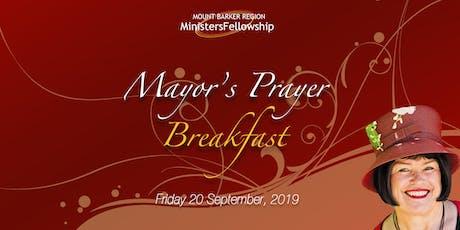 2019 Mayor's Prayer Breakfast tickets