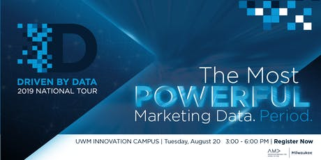 The Most Powerful Marketing Data. Period. tickets