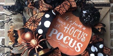 Mum & Me Halloween Wreath Making Workshop tickets