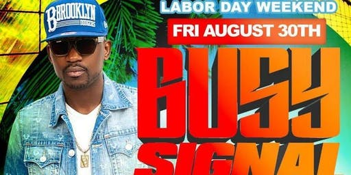 """DJ NORIE and BUSY SIGNAL at MARACAS NIGHT CLUB """"ANYTHING GOES LIVE LABOR DA..."""