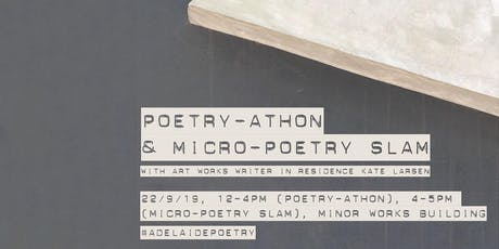 ART WORKS: Poetry-athon and Micro-Poetry Slam tickets