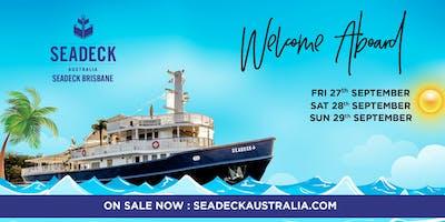 Seadeck Brisbane Spring Cruise - Opening Weekend Fri. 27 Sep.