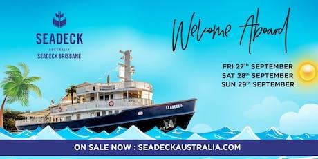 Seadeck Brisbane Spring Cruise - Opening Weekend Fri. 27 Sep. tickets