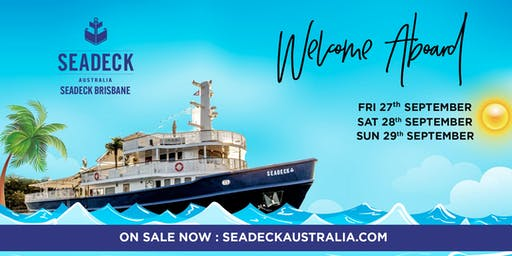 Seadeck Brisbane Spring Cruise - Opening Weekend Fri. 27 Sep.