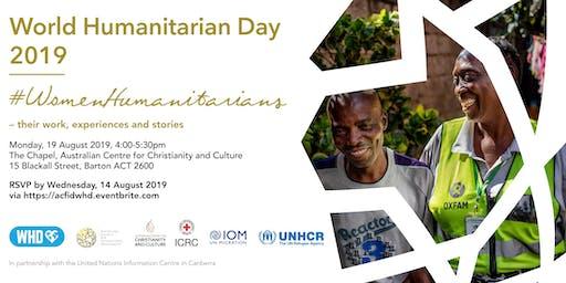 World Humanitarian Day 2019