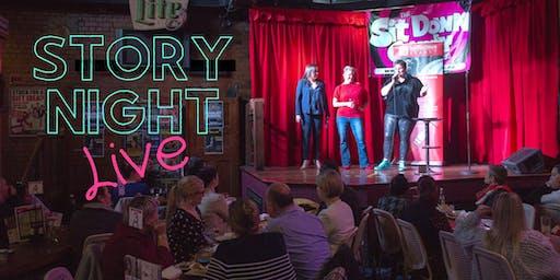 Story Night Live Brisbane