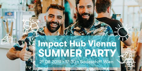 Impact Hub Vienna Summer Party [Members & Guests Only] tickets