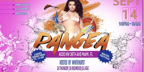 Pangea Miami Water Party ingressos