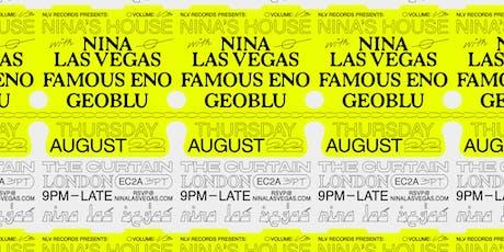 NLV Records Presents: Nina Las Vegas, Famous Eno & Geoblu tickets
