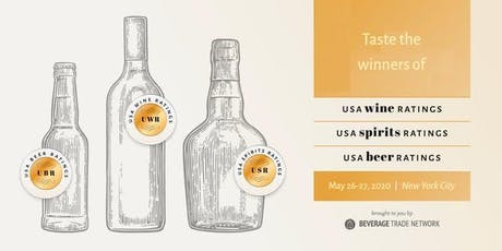 USA Wine, Spirits and Beer Ratings Winners Tasting tickets